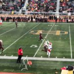 A great catch on the sidelines for Marquette