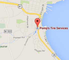 Find Pomps Tire on Google Maps