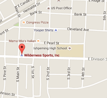 Wilderness Sports on Google Maps - Ishpeming MI - 49849