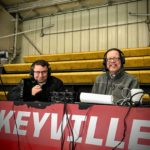 Joe Gaffney and John Thomsen ready to bring you all the action.