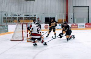 Marquette Redmen Hockey vs Traverse City Central Trojans