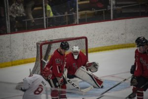 Holding out the shots on net