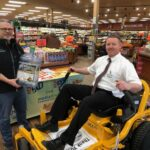 We had the mower at Super One Foods in Marquette for a while!