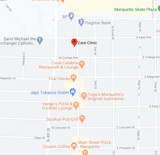 Find The Care Clinic on Google Maps
