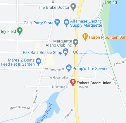 Find Embers Credit Union on Google Maps