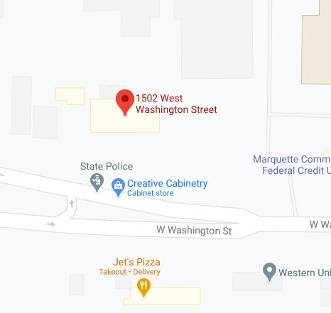 Find First Bank of Marquette with Google Maps