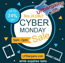 UPBargains Cyber Monday Deals