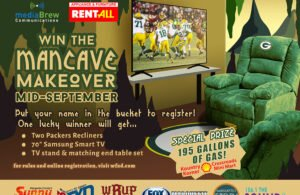 Enter to win the Man Cave Makeover Giveaway!