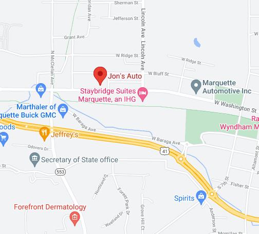 Find Jon's Auto on Google Maps