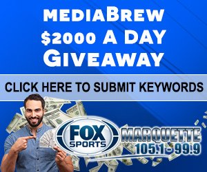 The mediaBrew $2000 a Day Giveaway